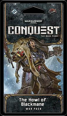The Howl of Blackmane war pack for Warhammer 40000 Conquest LCG