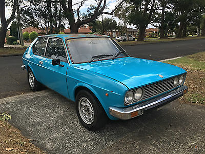 RARE 1976 fiat 128 3p coupe manual PRICED TO SELL !!!
