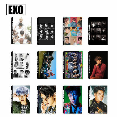 LOT OF & KPOP EXO CBX Personal Collective Photo Card Poster Lomo Card Bookmark