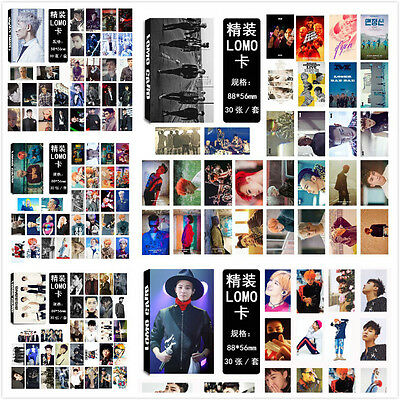 LOT OF & KPOP BIGBANG Member Personal /Collective PhotoCard Poster Lomo Card