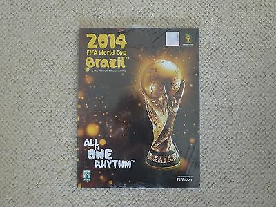2014 Fifa World Cup Official Match Programme In English