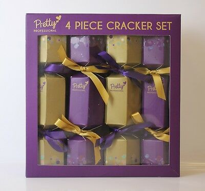 Pretty Professional Make Up Gifts - 4 CRACKERS FILLED WITH MINI BEAUTY TREATS