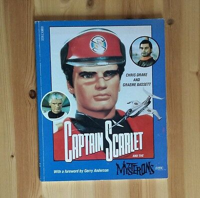 Captain Scarlet & the Mysterons by Chris Drake and Graeme Bassett - Pub. 1993