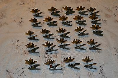 Vintage Christmas Tree Clip Candle Holders ~ Adjustable candle holder Pine cone