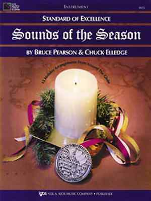 """Standard Of Excellence """"Sounds Of The Season"""" Tenor Saxophone Music Book Sax New"""