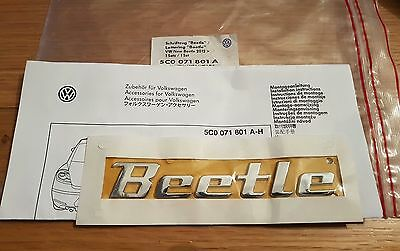 Genuine New Vw Beetle Badge Boot Hatch 5C0071801A