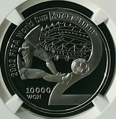 2002 Korea-Japan WorldCup Commemorative Colorized Proof Silver Coin / 2nd (2002)
