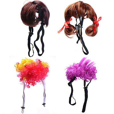 Pet Wig Dogs Cats Puppy Wig Halloween Festival Party Fancy Costumes Lovely