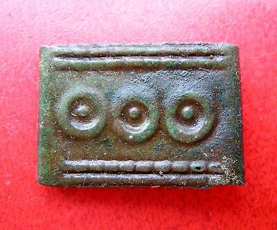 Ancient Viking Bronze Decor