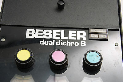 Beseler #8185 Dual Dichro S Color Head w/Conic Light 23C Enlargers  - USED F33