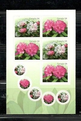 Canada Mint - Booklet #401 - Rhododendrons - #2219/20