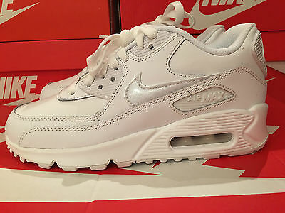 Nike Air Max 90 Ltr Girls Womens Shoes Size Uk 3 Eur 35.5 724821-100