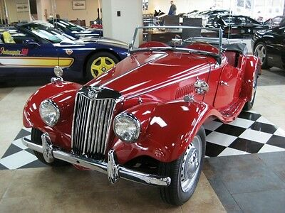 1954 MG T-Series  how Quality 1954 MG TF Roadster Full Restoration STILL IN TIME FOR HOLIDAY !