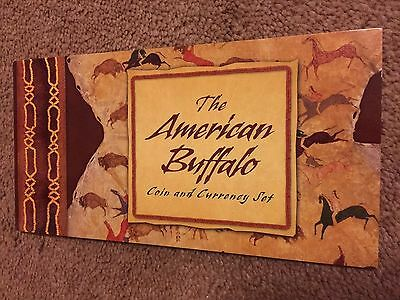 2001 American Buffalo Silver and Stamp Coin & Currency Set