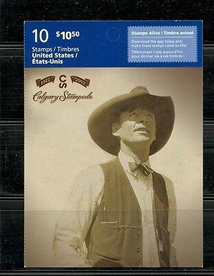 Canada Mint - Booklet #489 - Calgary Stampede - #2548a