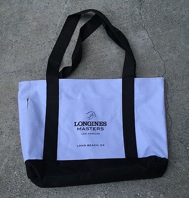 LONGINES MASTERS LOS ANGELES 2016 Show Jumping Official Tote Bag