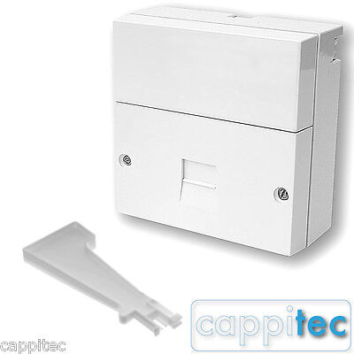 Telephone Master Socket Bt Openreach Type Nte5A With Screw Terminals