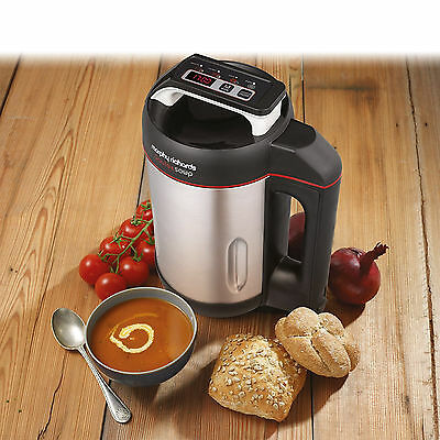 Morphy Richards 501014 Saute and Nutritious Soup Maker - Brushed Stainless Steel