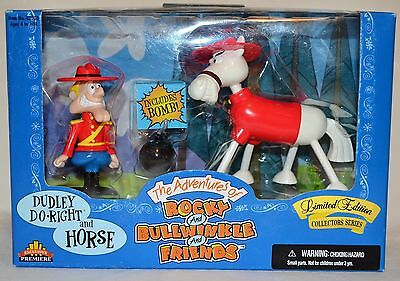 The Adventures of Rocky & Bullwinkle: Bullwinkle Rocket Figurines Limited Ed.
