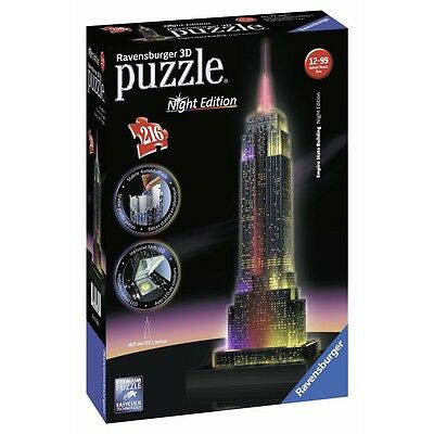 Puzzle 3D Empire Styate Building Night Edition 216 Pezzi