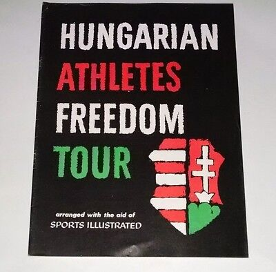 Vintage Hungarian Athletes Freedom Tour By Sports Illustrated- All  Athletes