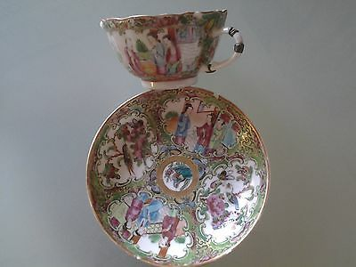 Antique Asian Cup and Saucer