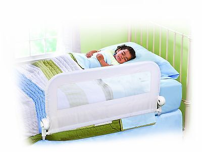 Summer Infant Grow With Me Single Child Bed Rail / Guard White Baby Safe Sleep