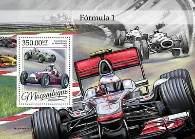 Z08 IMPERFORATED MOZ16310b MOZAMBIQUE 2016 Formula 1 MNH