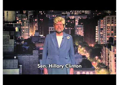 Rare -Hillary Clinton- Late Show with David Letterman Screen Used Prop Costume