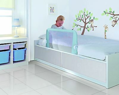 Lindam Bed Rail Guard Bedrail Childrens Toddler Easy Fit Extendable pale Blue