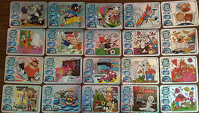 Full Set Shiny Yo Yo Bear Time Travel Adventure furrthest Future 20Cards81-100