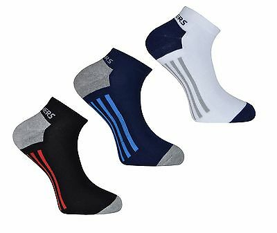 SKECHERS Mens Cushioned Trainers Liner Ankle socks