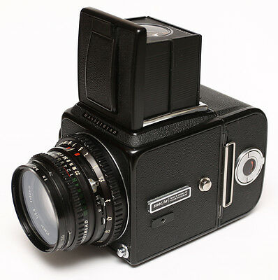 Hasselblad 500cm, Planar 80/2.8 C T* and A12 6x6 film back