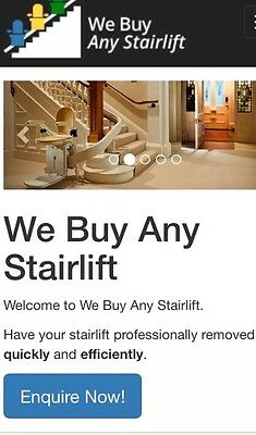 Stannah Acorn Minivator Stairlift Removal Service.
