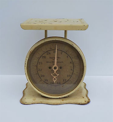 Vintage Pelouze Manufacturing Co. Kitchen Scale 30 Pound Capacity