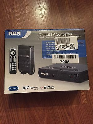 Rca Digital Tv Converter New In Box With Remote