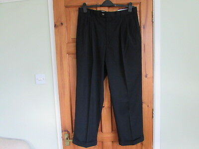 northern soul / 50s twin pleated turn up trousers W 38 X L 29
