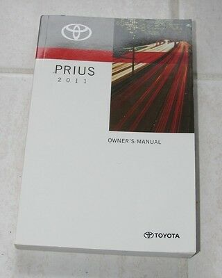 2011 Toyota Prius Owner's Manual - LIKE NEW