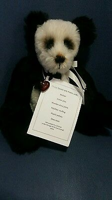 Hand Stitched Mohair Teddy Bears