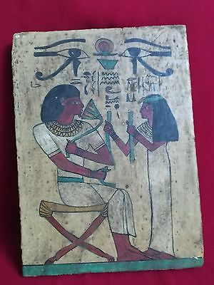 Ancient Egyptian Wooden board of  ISIS (380–362 BC)