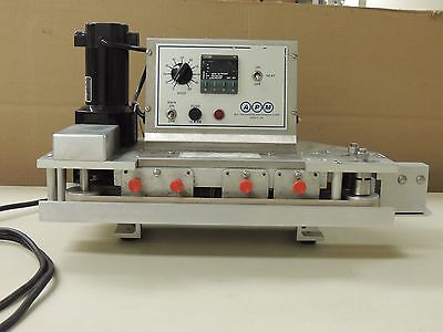 APM TBS 3/8  portable table top rotary band sealer