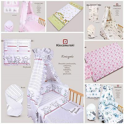 2, 3 & 5 Pieces Baby Bedding Set Cot 120x90cm Cot Bed 135x100cm Girl Boy Unisex