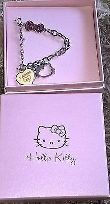 Hello kitty boxed charm bracelet ideal christmas gift