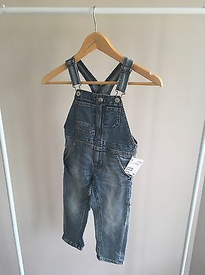 H&M Denim Overalls Toddler Size 3