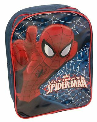Boys Marvel Ultimate Spiderman School Bag Backpack