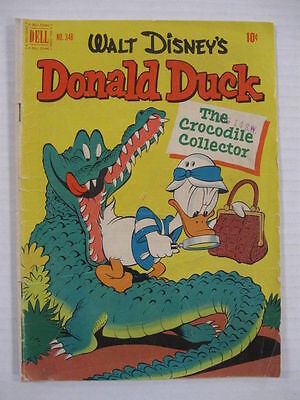 DONALD DUCK FOUR COLOR #348 VG, 356 VG 379 VG Lot Uncle Scrooge Barks Guide $94