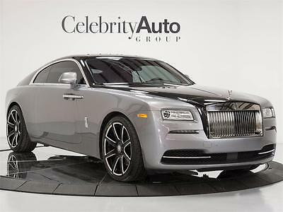 2014 Rolls-Royce Other Base Coupe 2-Door 2014 ROLLS ROYCE WRAITH $353,975 MSRP