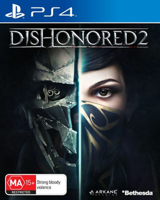 Brand New Sealed Dishonored 2 Ps4 Original Aus Version
