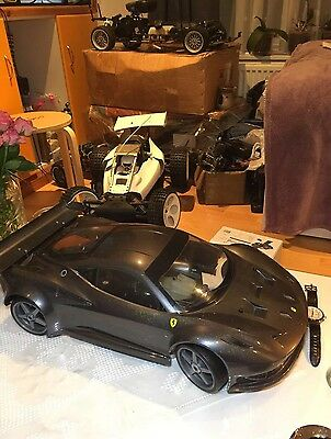 KYOSHO INFERNO GT2  1/8 Scale WITH 2.4 GHz ACE RC  Nitro Big Block Engine