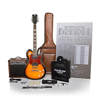 Keith Urban 50-piece PLAYER Solid-Body Electric Guitar and 30-Lesson Package NEW
